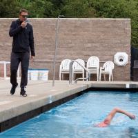 Коммуникатор связи тренера с пловцом SWIM AQUA COACH